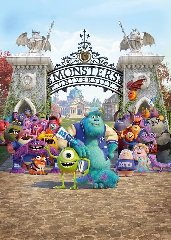 《怪兽大学》(Monster Uiversity)官方海报